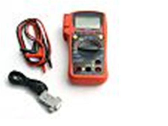 Digital Multimeter Voltmeter Range PC